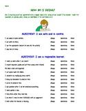 Student Behavior Self Reflection