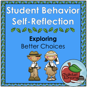 Student Behavior Self-Reflection Packet