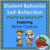 Student Behavior Self-Reflection Packet