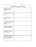 Student Behaviour Reflection