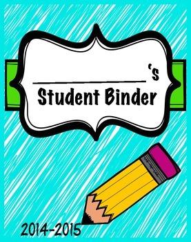 Student Binder