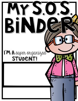 Student Binder BUNDLE #2! [THREE different S.O.S. Binders!]