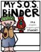 Student Binder BUNDLE #6! [THREE different S.O.S. Binders!]