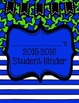 Student Binder Cover FREEBIE