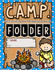 C.A.M.P. Student Binder Covers - Camping Theme