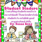 Student Binder Covers - Editable