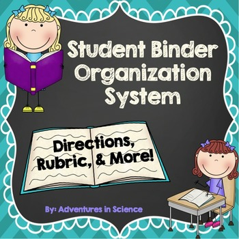 Student Binder Organization System: Directions, Rubric, & More!