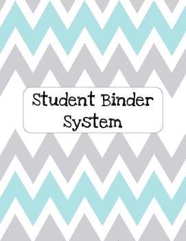 Chevron Student Binder System