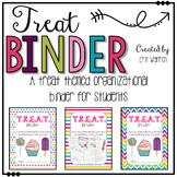 Student Binder (TREAT themed)