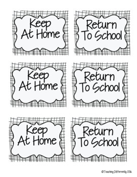 Student Binder & Take Home Folder Covers (w/ Folder Labels!) Banners Theme