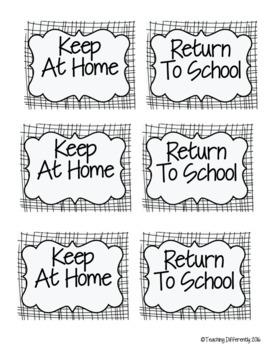 EDITABLE Student Binder & Homework Folder Covers {Banners Theme}