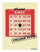 Student Bingo: College Style!