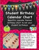 Student Birthday Calendar Chart