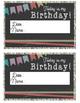 Student Birthday Celebration - Cards, No Homework Pass, an