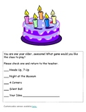 Student Birthday Celebration - No-prep - Customizable