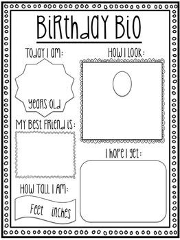 Student Birthday Display & Birthday Book Kit