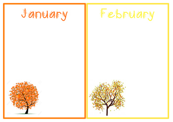 Student Birthday Display Board - Tree Design