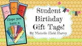 Have a Cool Birthday Student Birthday Gift Tags