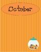 Student Birthday List Blank Template