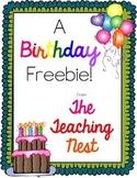 Student Birthday Organizer