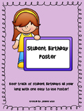 Student Birthday Poster