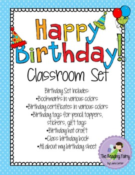 Student Birthday Set