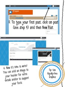 Student Blogging 101 Using Weebly
