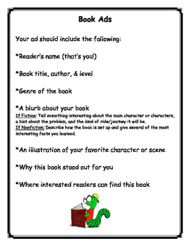Student Book Ad Guidelines & Template