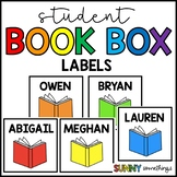 Student Book Box Labels: Fits Perfectly in Target Adhesive