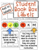 Student Book Box Labels - Independent Reading Level