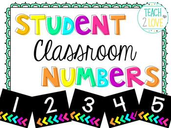 Number Cards 1-32