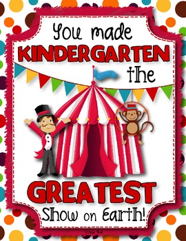 Student Book - Circus Theme