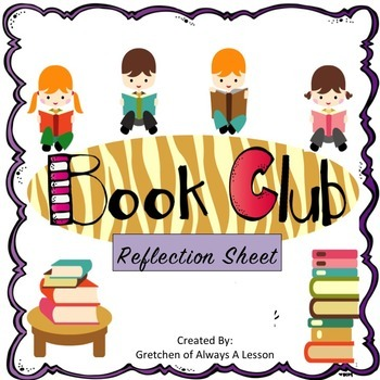 Student-Led Book Club Reflection Sheet