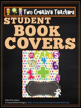 Student Book Covers Circus Theme