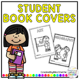 Student Book Covers EDITABLE