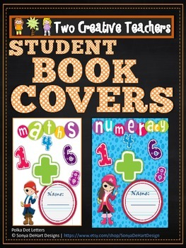 Student Book Covers Pirate Theme