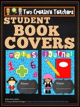 Student Book Covers Pirate Theme 2