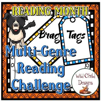 Student Book Genre Reading Challenge