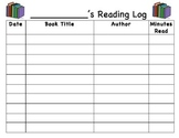 Student Book Log