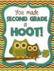 Student Book - Owl Theme