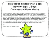Student Book Recommendation Slips