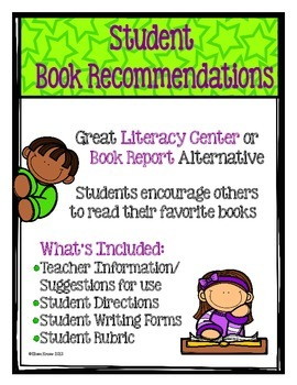Book Recommendations by Students- Great Center and Bulletin Board