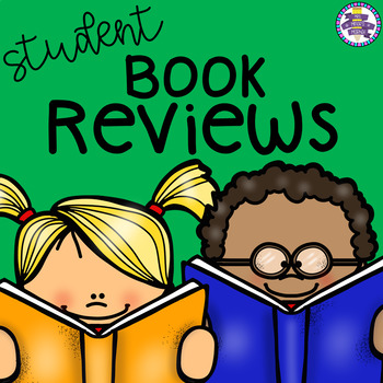 Student Book Recommendations / Reviews - 3 Templates