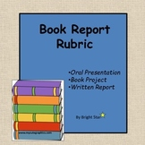Student Book Report Rubric