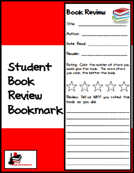 how to write a book review for elementary students