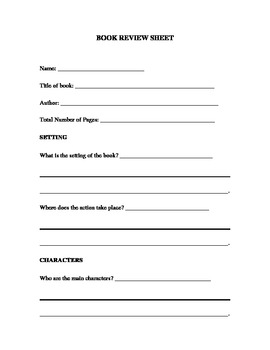 book report summary worksheet General book reports general book report: randomly pick questions  worksheet and lesson plan activity ideas math : math worksheets and math printables.