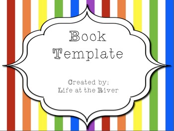 Student Book Template