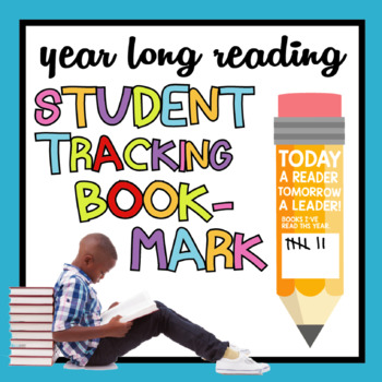 Student Book Tracking Pencil Bookmark