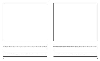 Free Student Book Writing Template - Bigger Size!