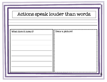 Student Book of Sayings and Phrases (Core Knowledge Third Grade)